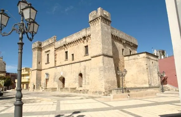 Puglia il Castello Muscettola di Torricella