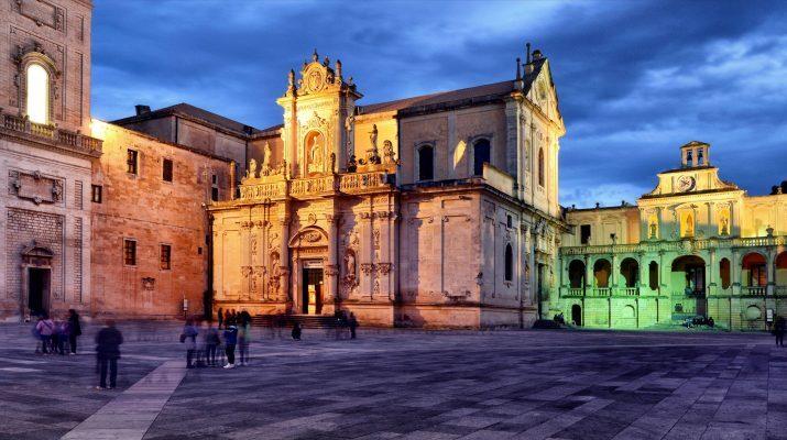 Lecce il Duomo colori salento