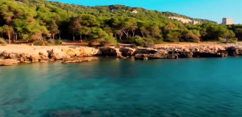 Porto Selvaggio mare spiaggia