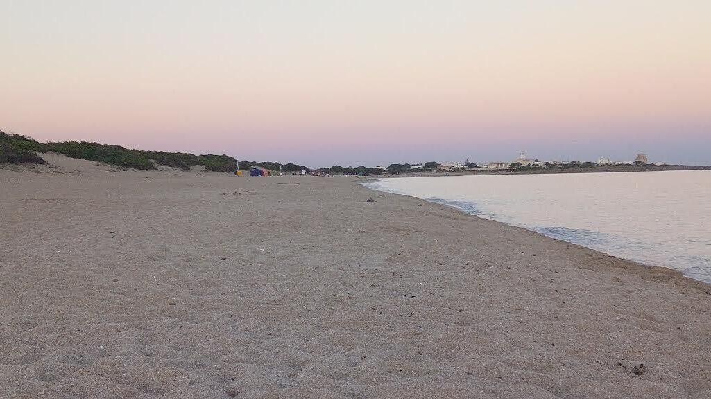 Spiaggia salina monaci