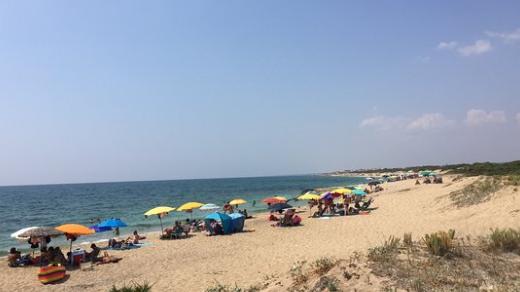 Spiaggia Salina dei Monaci Manduria Salento