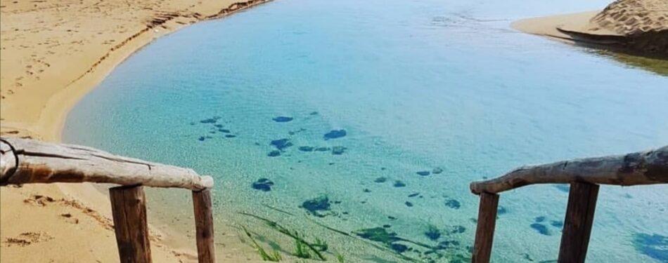 Fiume chidro salento spiaggia