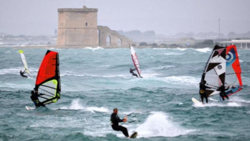 Kitesurf salento gallipoli
