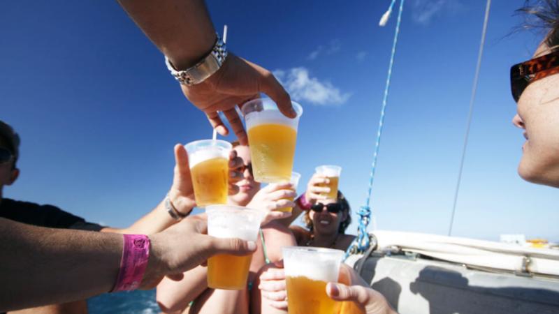 Party in barca salento