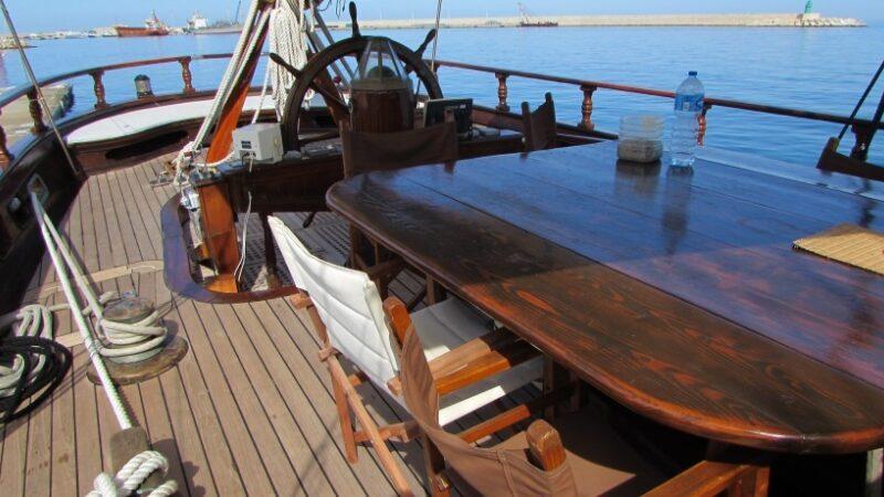 Barca in legno feste private salento