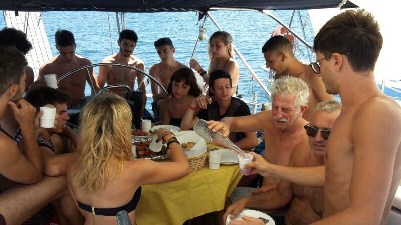 Festa barca vela salento