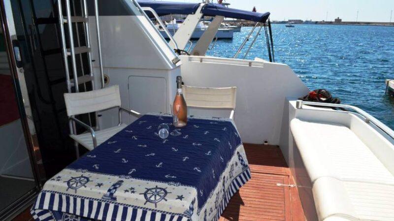 Feste in yacht salento