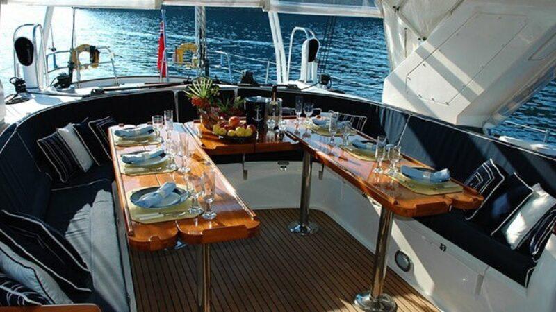 Interno yacht feste private gallipoli