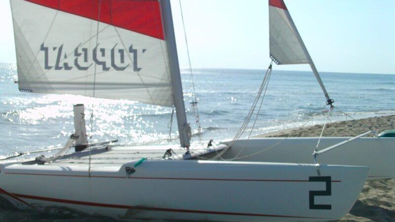 Local catamarano corso