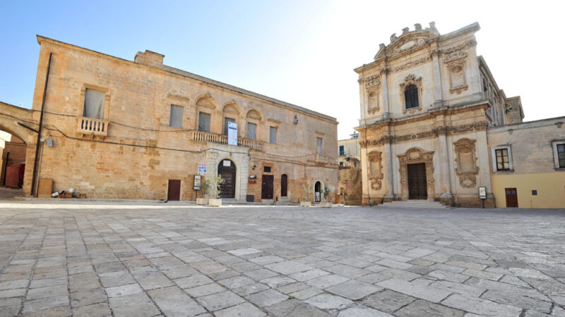 Mesagne Piazza Orsini Sant Anna