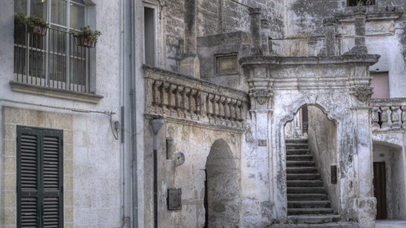 Oria centro storico antico