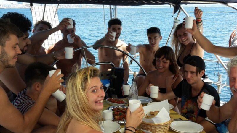 Salento barca vela gallipoli