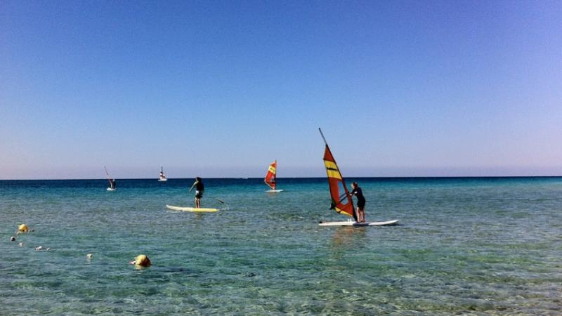 Wind surf porto cesareo
