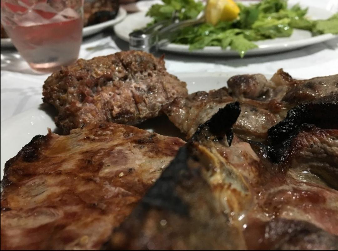 Carne arrosto antica osteria erchie