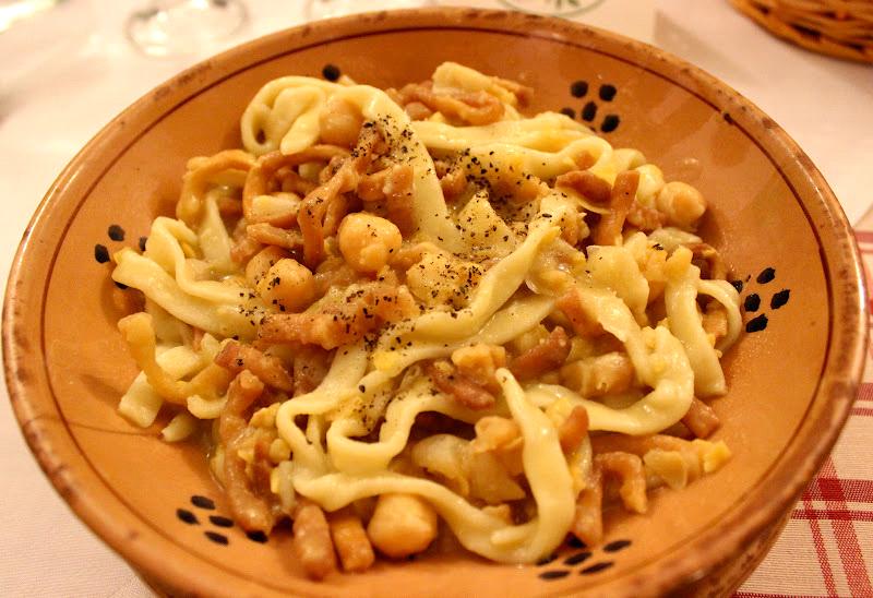 Cucina salentina pasta