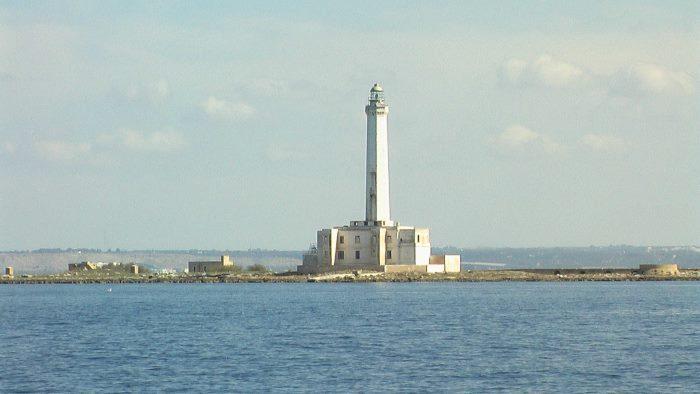 Faro Isola dell'Isola di Sant'Andrea Gallipoli