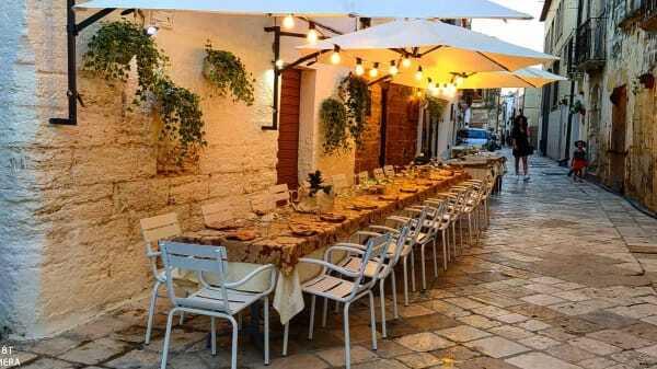 Mesagne centro pranzo locali al centro storico