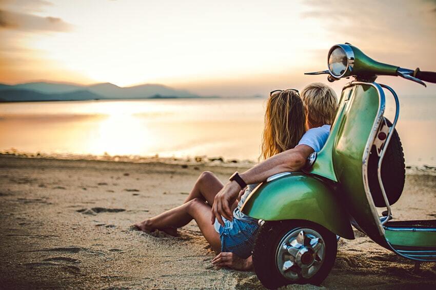 Noleggio scooter a Punta Prosciutto