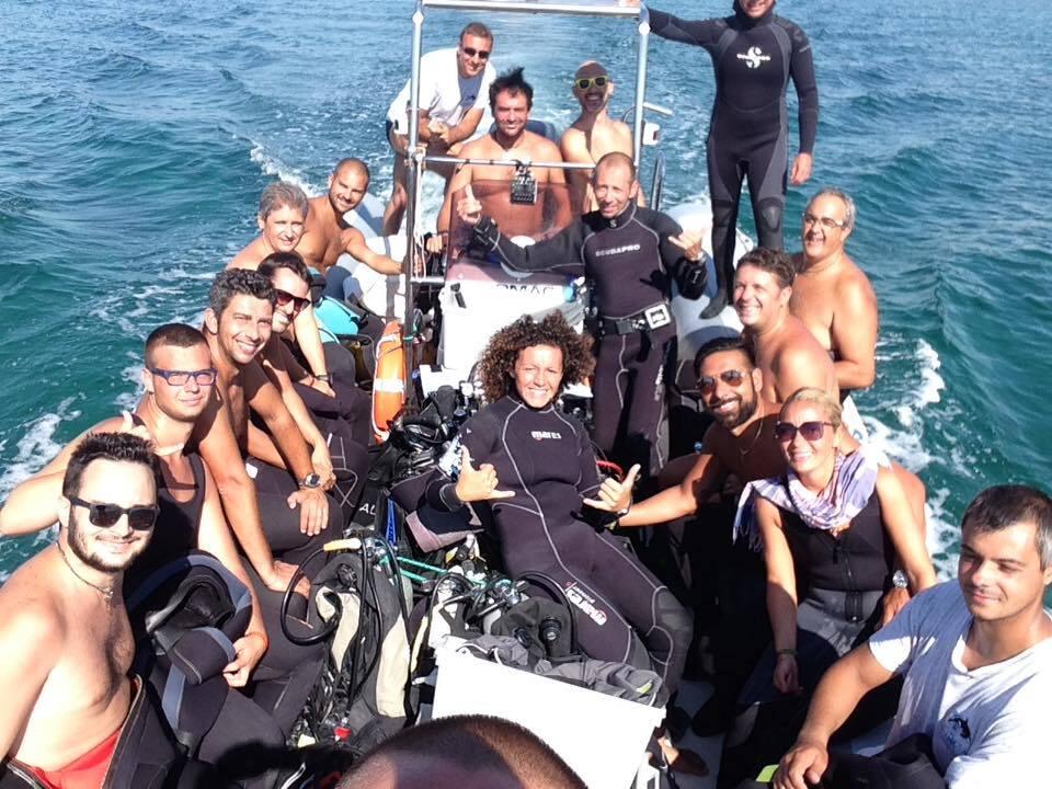 Orca diving immersioni ounta prosciutto