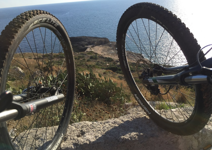 Percorso bike presso punta prosciutto