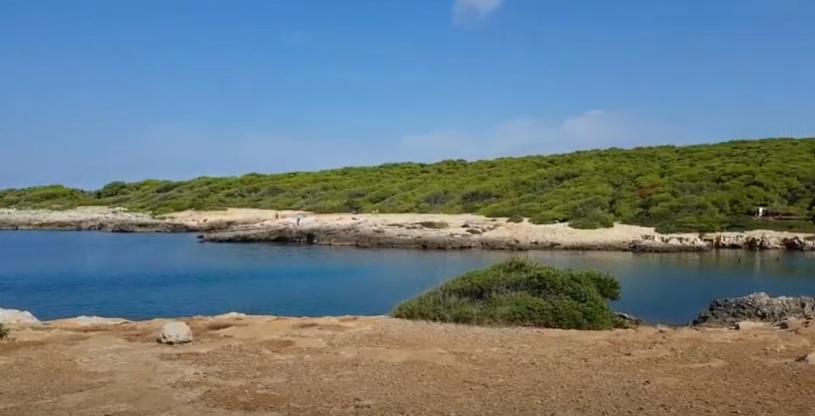 Porto selvaggio costa