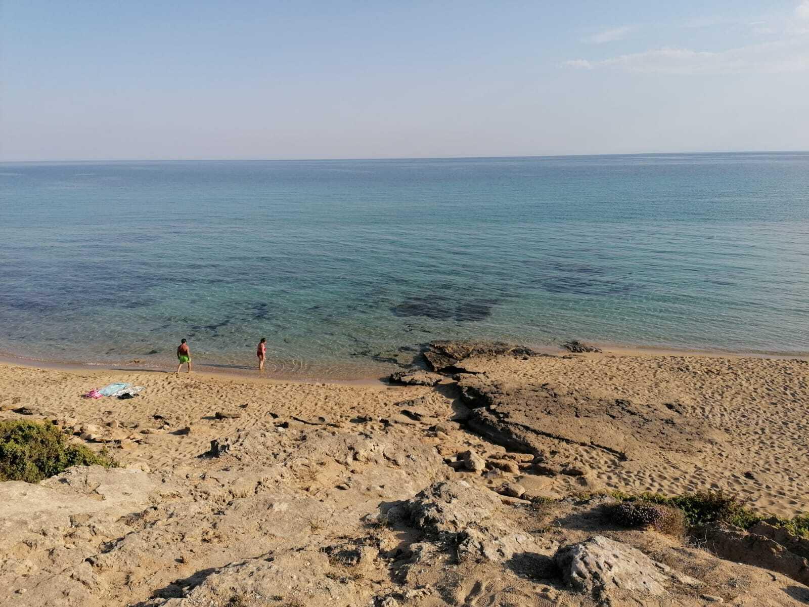 Spiaggia mirante scogliera