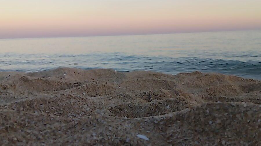 Spiaggia monaci mare