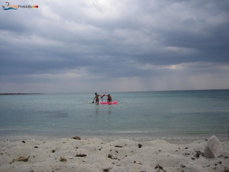 Spiaggia spiaggetta palude del conte Zp S