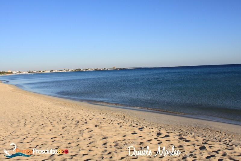 Spiaggia spiaggia di torre lapillo BR6