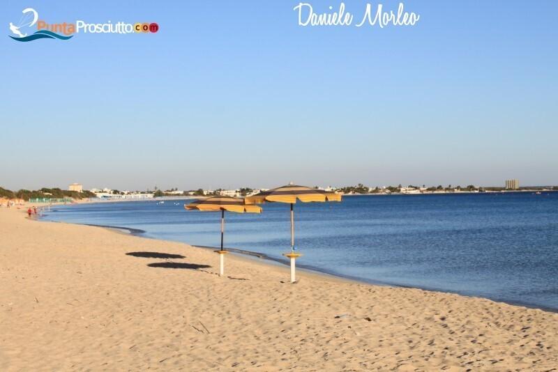 Spiaggia spiaggia di torre lapillo ko9