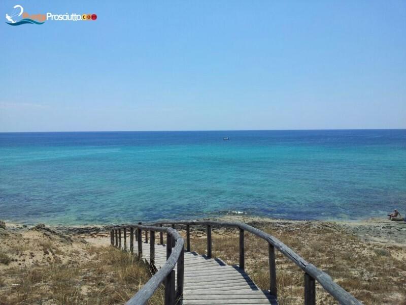 Spiaggia spiaggia zona torre borraco w Wr