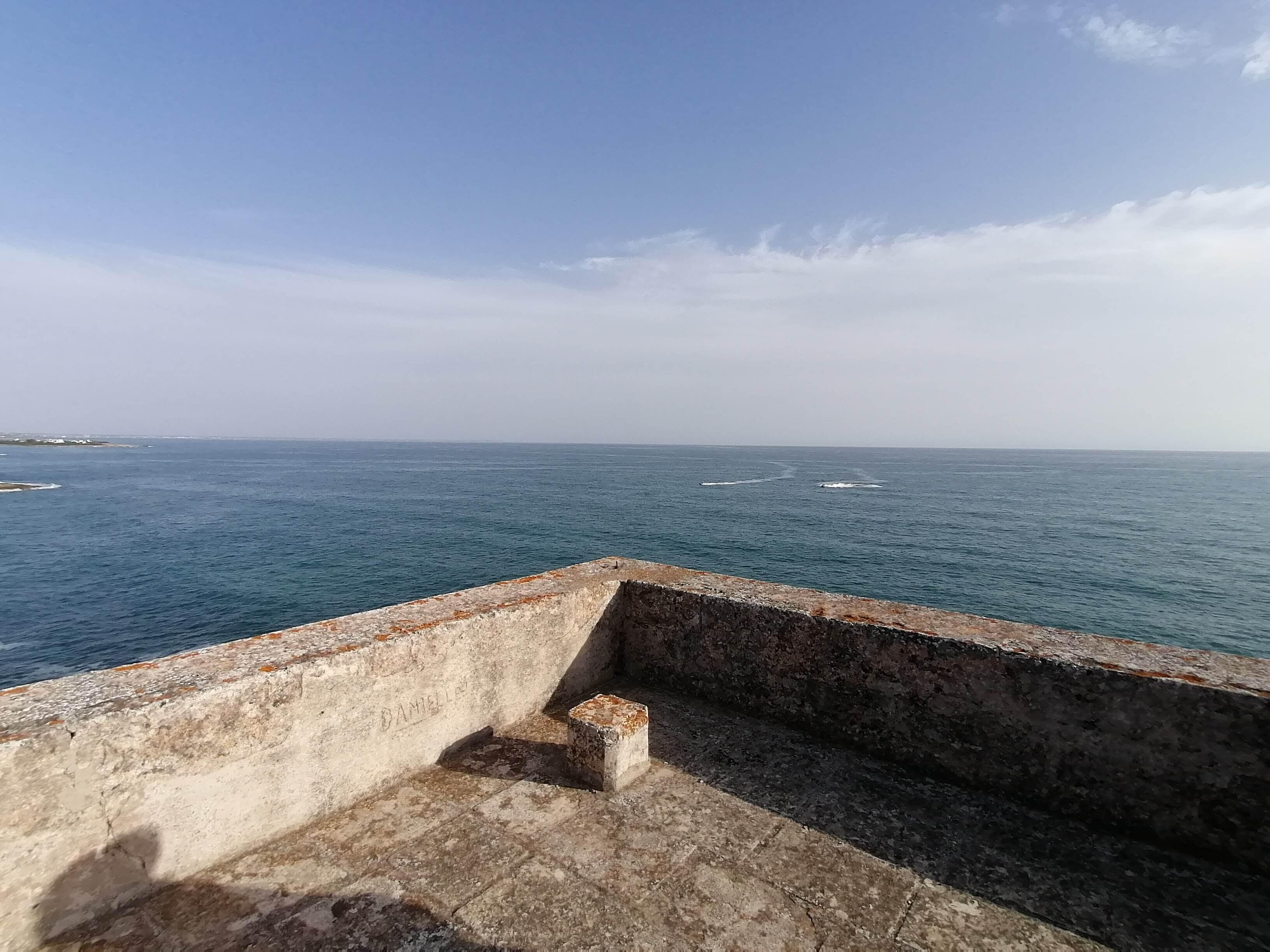 Torre colimena panoramica mar