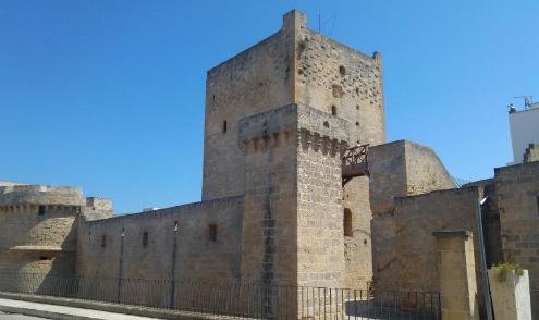 la torre del Castello di Avetrana