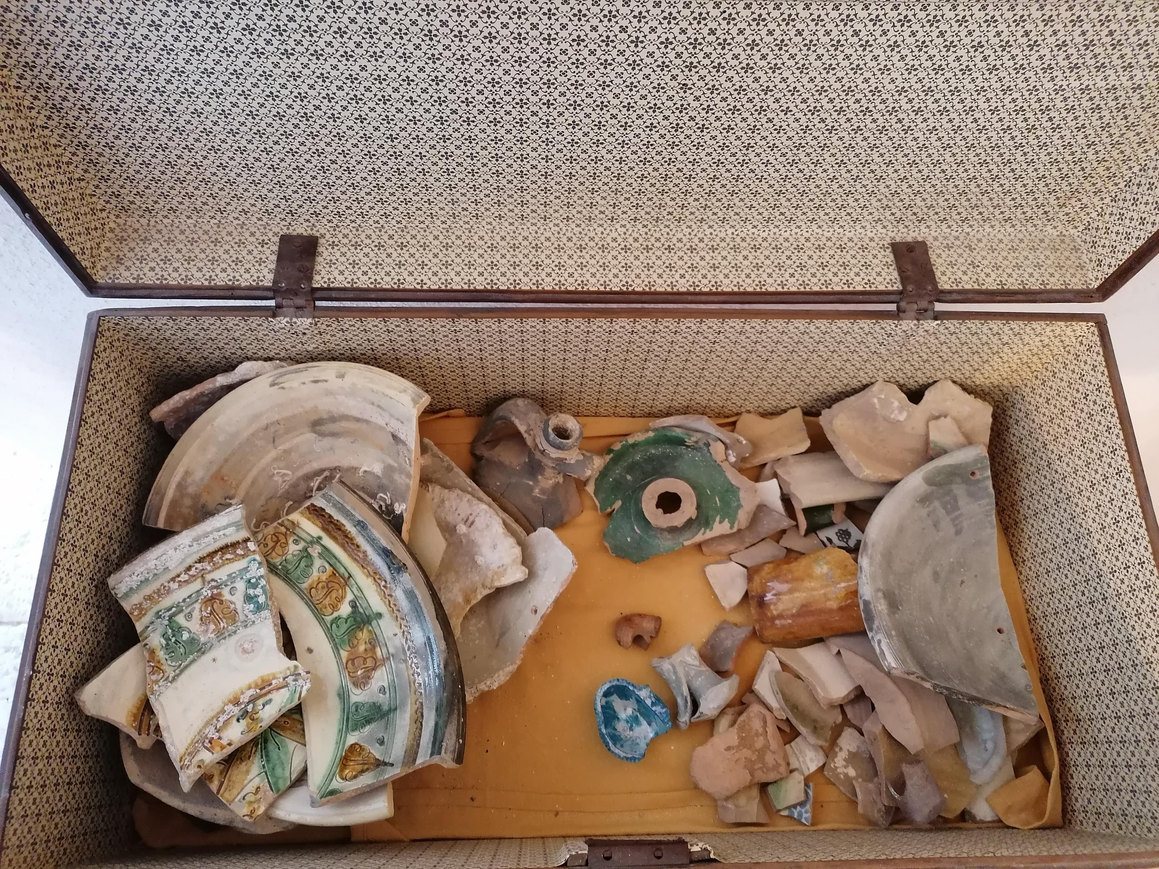 Vasi ceramica salento museo torre colimen
