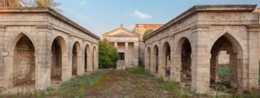 villa Montoto, una bellissima struttura con l'unico esempio pregiato di gairdino