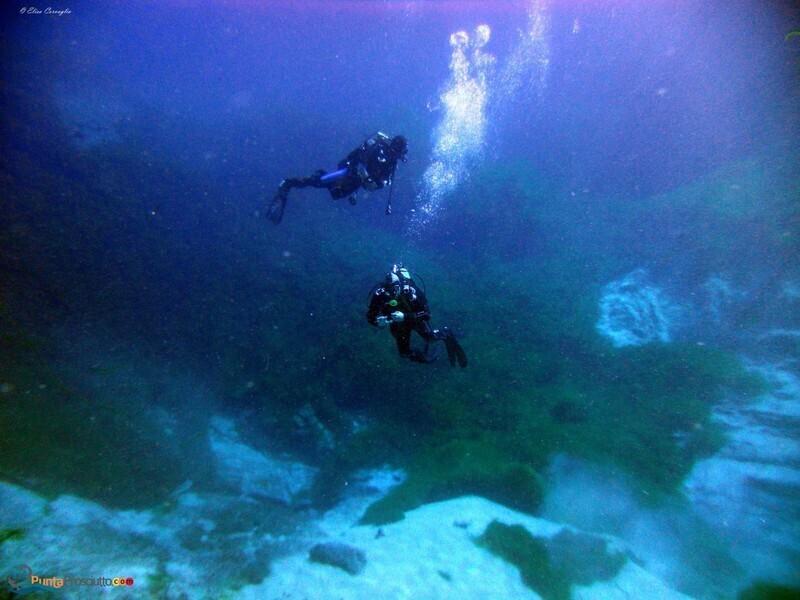 Zona per immersioni immersione zona san pietro